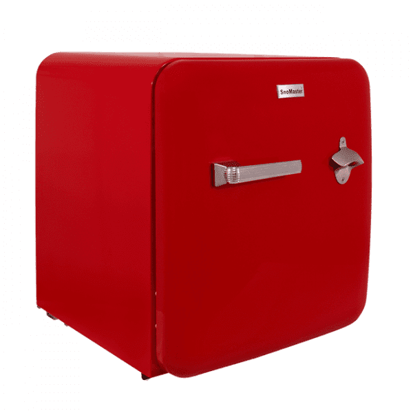 Red retro beverage cooler