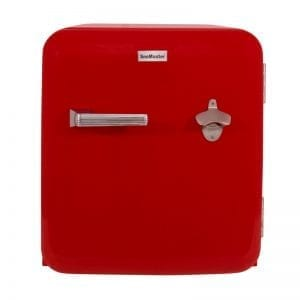 SnoMaster 50L Red Retro Beverage Cooler