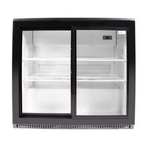 SnoMaster 200L Under Counter Beverage Cooler Sliding Door