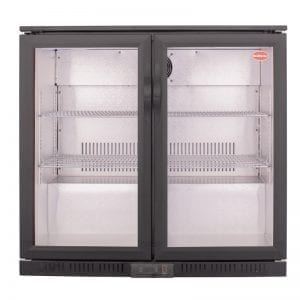 SnoMaster 200L Under Counter Beverage Cooler Hinged Door