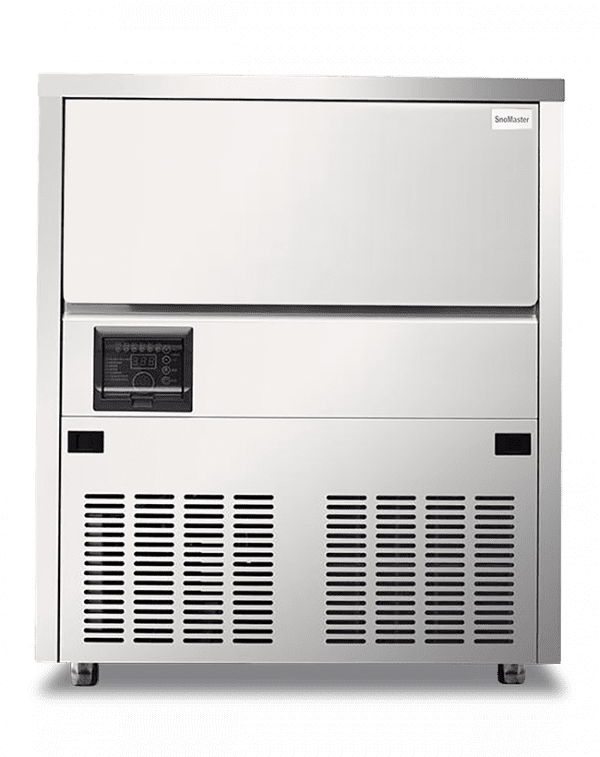 SnoMaster 80kg Plumbed-In Undercounter Commercial Ice Maker Square (SM80S)