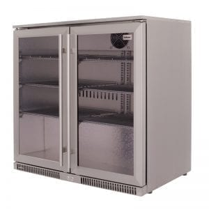 SnoMaster 200L Under Counter Beverage Cooler Stainless Steel (SD-220SS)