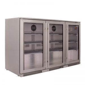 SnoMaster 300L Under Counter Beverage Cooler Stainless Steel (SD-300SS)