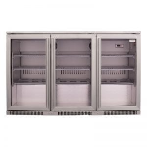 SnoMaster 300L Under Counter Beverage Cooler Stainless Steel