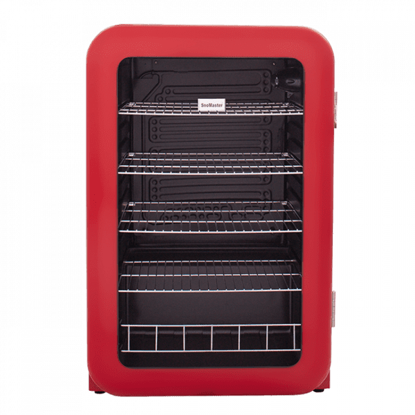 SnoMaster 115L Portable Under Counter Beverage Cooler (SM-200R) Retro Red Front View