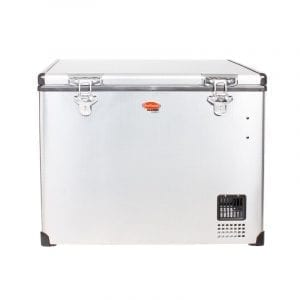 SnoMaster 80L Stainless Steel Fridge/Freezer AC/DC (SMDZ-CL80)