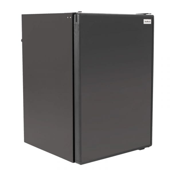 SnoMaster 100L Lockable Portable Camping Fridge/Freezer AC/DC (SMDZ-RV105) with Interchangeable Doors Right Side Closed