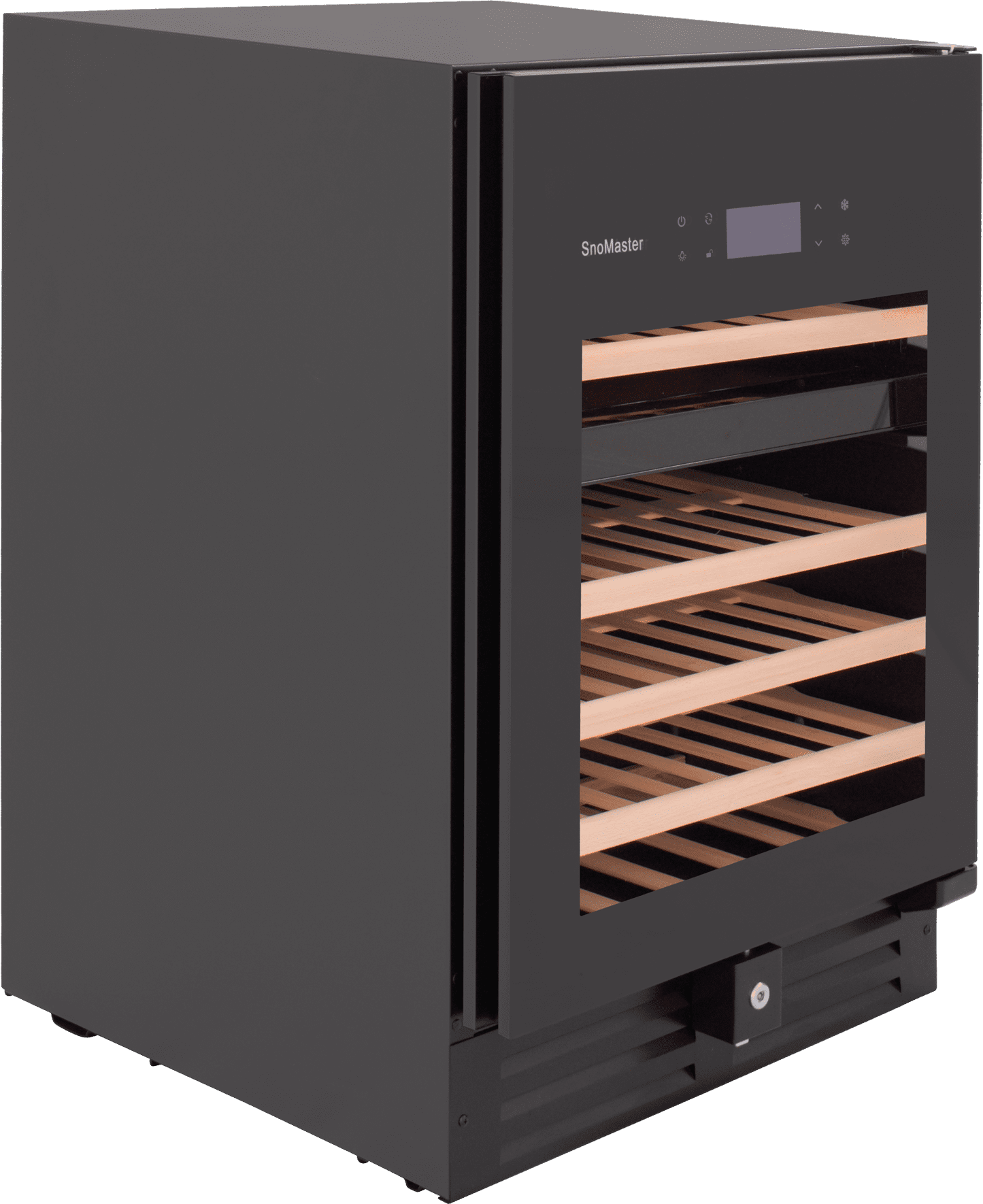 SnoMaster Ultra Quiet 46 Bottle Dual Zone Wine Chiller with Digital Temperature Right View