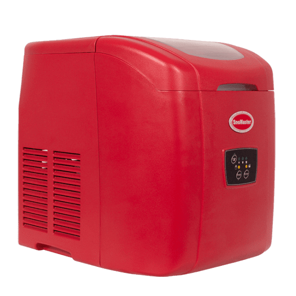 SnoMaster 12kg Portable Ice Making Machine (10 Bullet Ice Cubes Per Cycle)