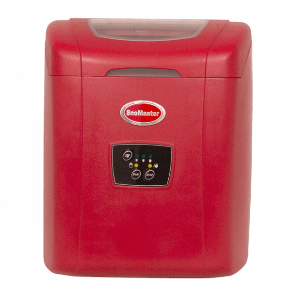 SnoMaster 12kg Portable Ice Maker with 10 Bullet Ice Cubes Per Cycle Capacity