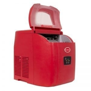 SnoMaster 12kg Table Top Ice Maker – Red (ZB-14R)