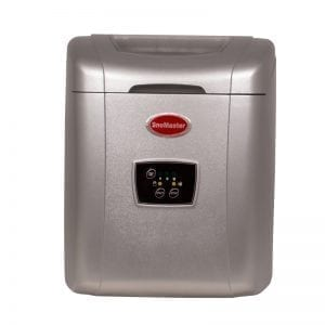 SnoMaster 12kg Portable Ice Maker (Silver)