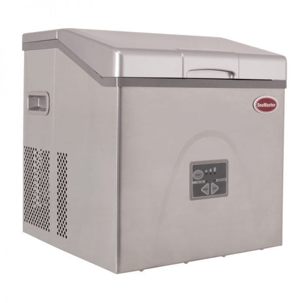 SnoMaster 20kg Table Top Ice Maker – Stainless Steel (ZBC-20)