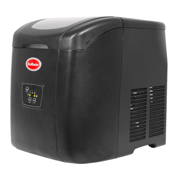 SnoMaster 12KG Portable Ice Maker (ZB-14) 10 Bullet Ice Cubes / Cycle Black