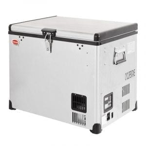 SnoMaster 40L Stainless Steel Fridge/Freezer AC/DC (SMDZ-CL40)