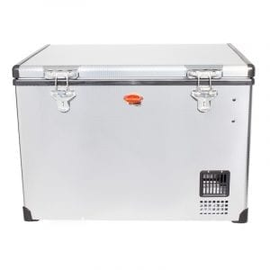 SnoMaster 60L Stainless Steel Fridge/Freezer AC/DC (SMDZ-CL60)