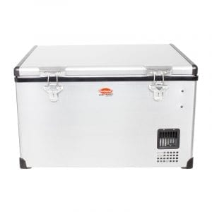 SnoMaster 65L Low Profile Stainless Steel Fridge/Freezer AC/DC (SMDZ-LP65)