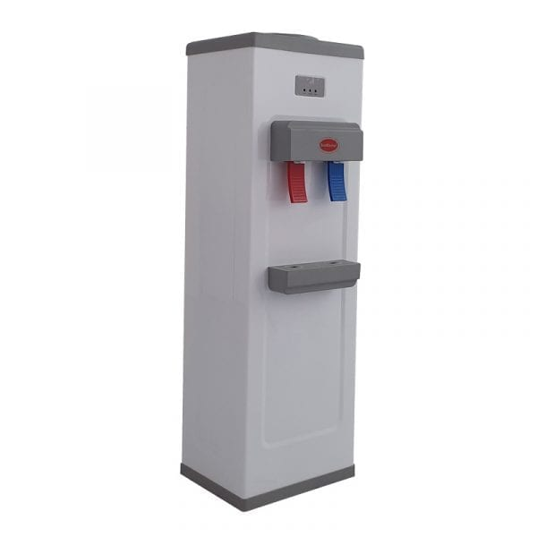 SnoMaster Compressor Cooled Freestanding Hot and Cold Water Dispenser (YLR2-5-16LB) for Home and Office Use Right Side