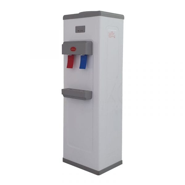 SnoMaster Compressor Cooled Freestanding Hot and Cold Water Dispenser (YLR2-5-16LB) for Home and Office Use Left Side