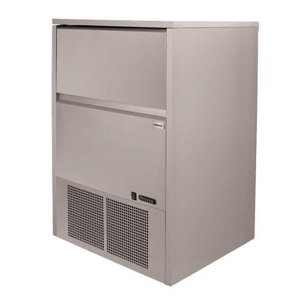 SnoMaster 80kg Plumbed-In Undercounter Commercial Ice Maker SM-80 48 cubes / cycle