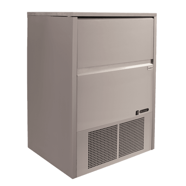 SnoMaster 80kg Plumbed-In Undercounter Commercial Ice Maker SM-80 48 cubes / cycle Side Panel