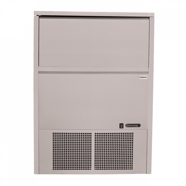 SnoMaster 80kg Plumbed-In Undercounter Commercial Ice Maker SM-80 48 cubes / cycle Front Panel