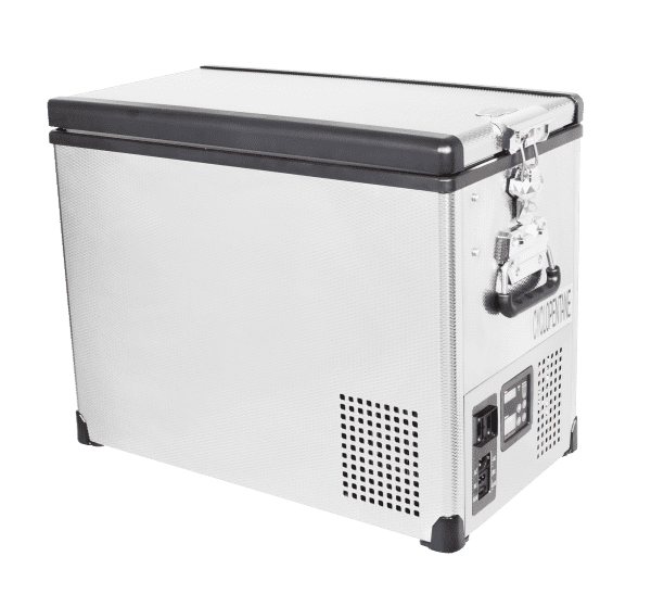 SnoMaster 42L Single Compartment Stainless Steel Camping Fridge/Freezer SMDZ-TR42SS