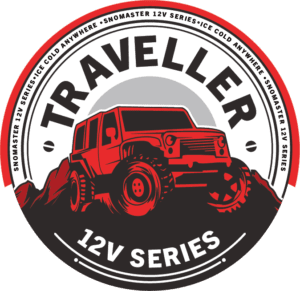 SnoMaster Portable Fridge Freezer Traveler Series for space-conscious camping, travel, and off-roading enthusiasts logo