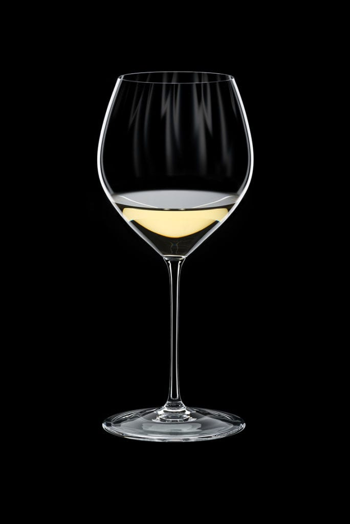 Elegantly shaped, this Riedel Performance Chardonnay glass will take your white wine drinking experience to the next level