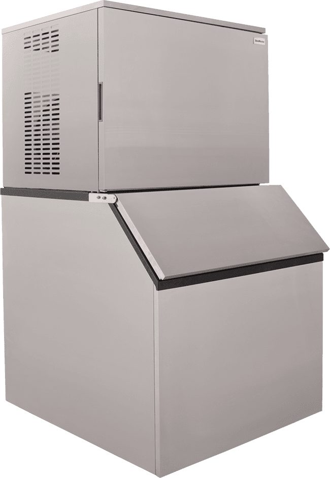 Ideal for small restaurants, pubs and domestic use, this 150kg Plumbed-In Commercial Ice Making Machine produces up to 150kg of square block ice per day