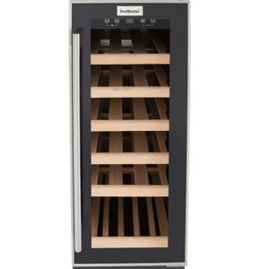 SnoMaster 18 Bottle (58L) Compressor Cooled Single Zone Undercounter Wine Cooler (VT-19M) with Digital Touch Control