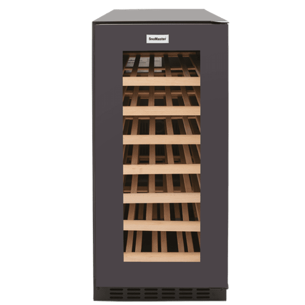 SnoMaster Compressor Cooled Stainless Steel 32 Bottle (103L) Commercial and Domestic Single Zone Wine Cooler (VT-32W)