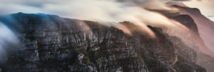Table Mountain and the Twelve Apostles offer some five star climbing routes. (1)