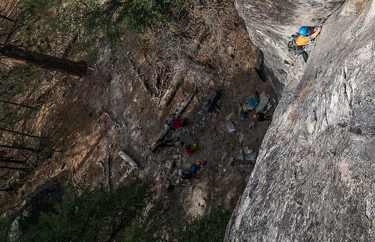 making the impossible look easy rock climbing western cape
