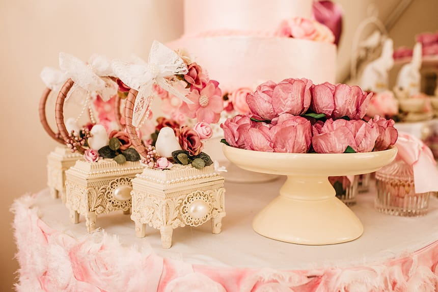 An intimate wedding is all about attention to detail