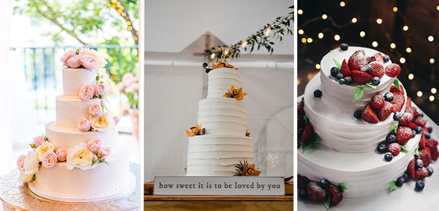 No wedding is complete without a stunning wedding cake.