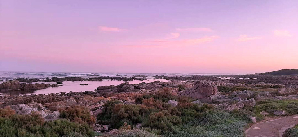 Western Cape road trips are capped by an explosion of vivid sunset colors