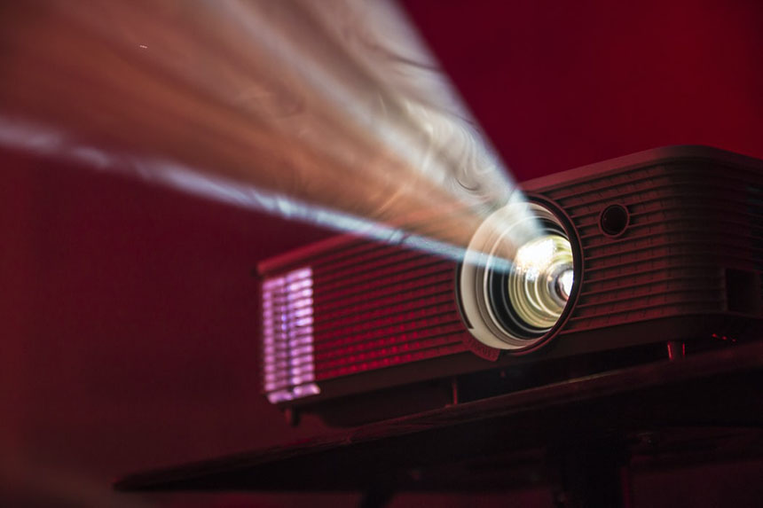 Projector for a home move theatre