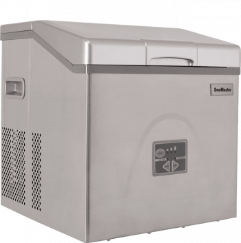 SnoMaster 20kg Stainless Steel Portable Ice Maker (ZBC-20) 12 Ice Cubes / Cycle